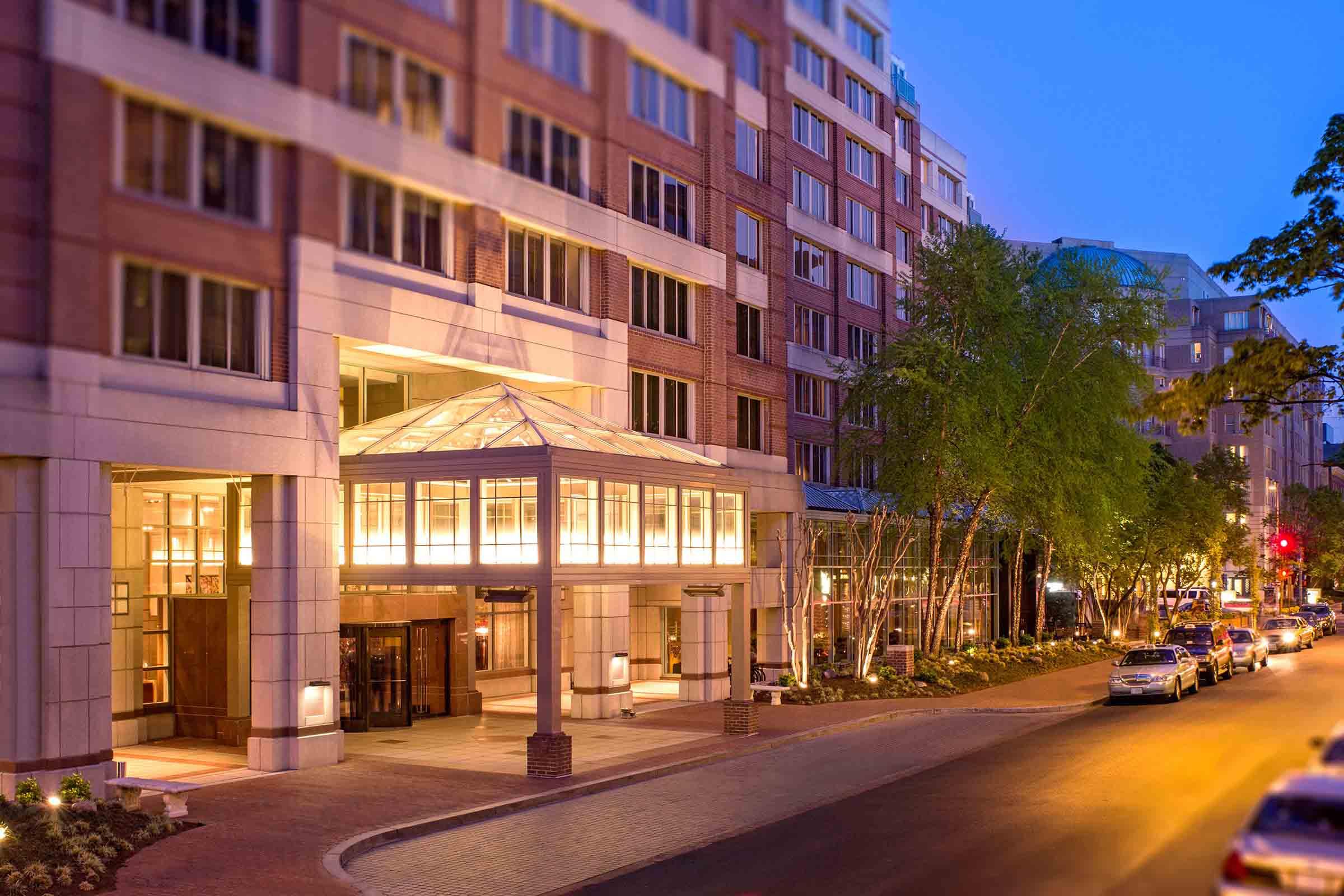 Park Hyatt Entrance